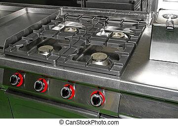 Professional stove