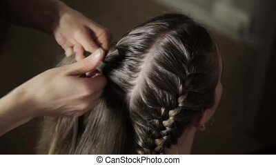 Professional styling makes styling easier, plaiting braids...