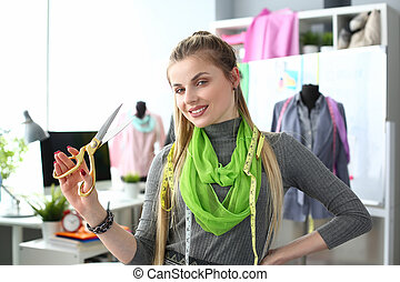 Professional Tailoing Service Clothes Creation. Female ...