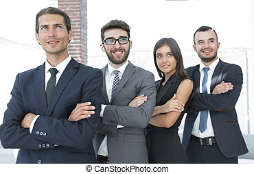 professional team of business people.