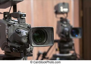 Professional TV camera