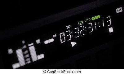 Professional video recorder. Focus pulling 1