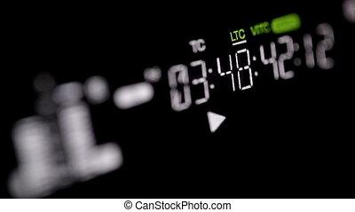 Professional video recorder. Focus pulling 2