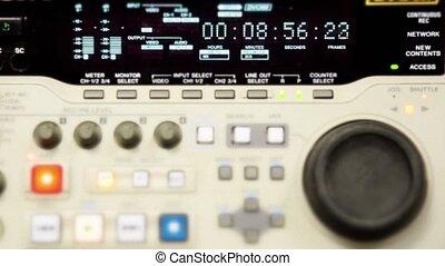 Professional video recorder. Format DVcam