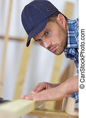 professionale, carpentiere, lavoro