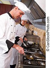 professionale, chef, cottura
