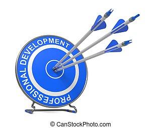 professionale, concept., development., affari