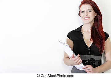 professionale, donna, affari