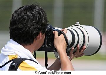 professionale, fotografo