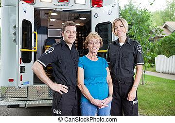 professionals, ambulance