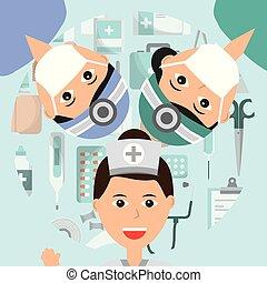 professione medica, persone