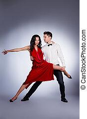 professioneel, dansers