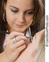 professioneel, make-up