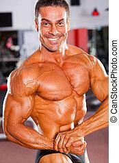 professioneel, mannelijke , bodybuilder