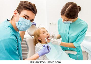 professioneel, tandarts werkkring