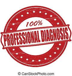 professionell, diagnose