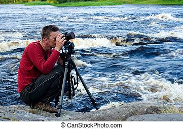 professionell, fotograf