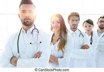 professionell, lag, av, doktorn, terapeuter