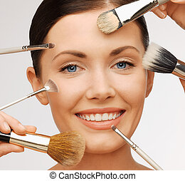 professionell, make-up