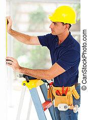professionell, säkerhet, bevakning, system, installerare