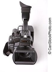 professionell, videocamcorder