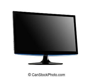 professionell, widescreen, computermonitor