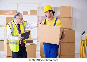 professionell, wohnungswechsel, umzugsunternehmen, daheim