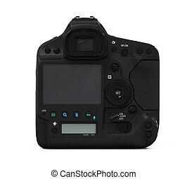 professionnel, appareil photo, slr, numérique