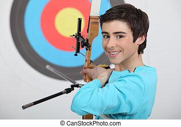 professionnel, archer