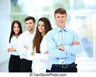 professionnel,  Business, équipe
