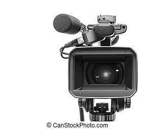 professionnel, camcorder vidéo