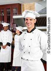 professionnel, chefs