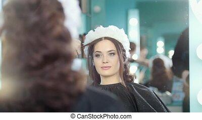 professionnel, coiffure, styliste coiffure, confection, mariage