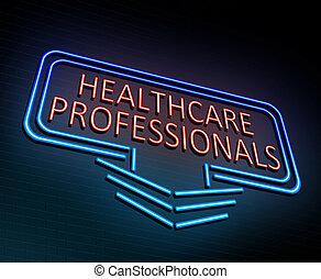 professionnel, concept., healthcare