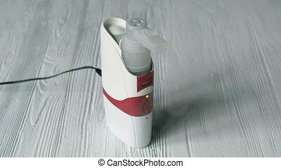 professionnel, inhalateur, ultrasonique, nebulizer