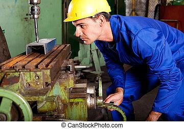 professionnel, machiniste