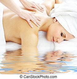 professionnel, masage