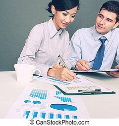 professionnels, à, les, réunion