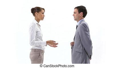 professionnels, conversation