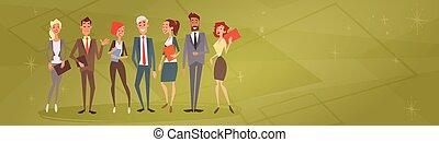 professionnels, groupe, équipe, ressources humaines, collègues