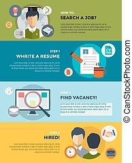 professions., búsqueda, estudiantes, universidad, después, ...