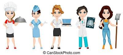 professions., conjunto