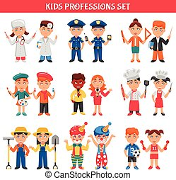 Professions Kids Set