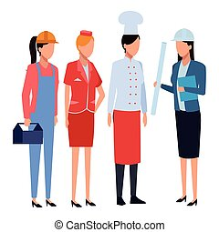 professions, travaux, avatar