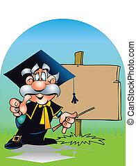 professor, aproximadamente, tábua