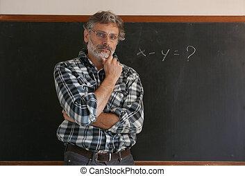 Professor blackboard problem