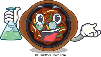Professor bulgogi in a the bowl cartoon