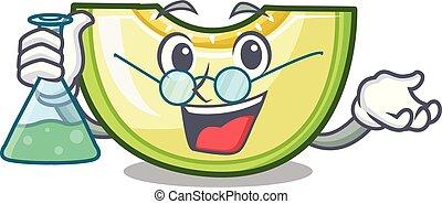 Professor fresh melon slice in the frezeer cartoon