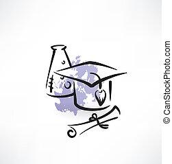 Professor of Chemistry grunge icon
