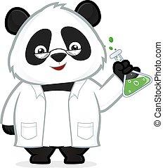 professor, panda